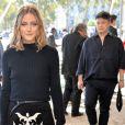 """Olivia Palermo au défilé de mode printemps-été 2018 """"Nina Ricci"""" à Paris. Le 29 septembre 2017 © CVS-Veeren / Bestimage"""
