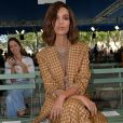 """Emily Ratajkowski au défilé de mode printemps-été 2018 """"Nina Ricci"""" à Paris. Le 29 septembre 2017 © CVS-Veeren / Bestimage"""