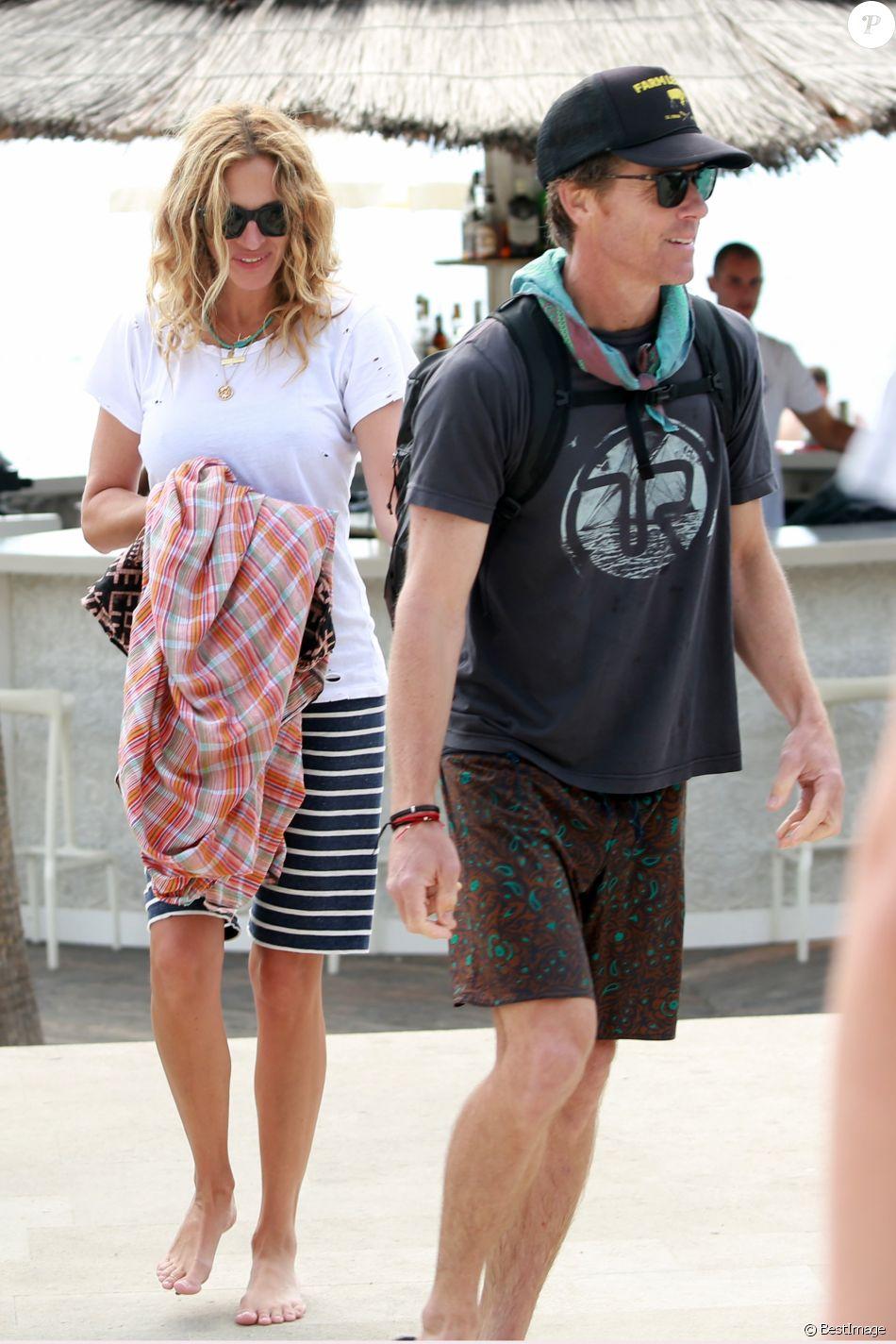 Exclusif - Julia Roberts passe ses vacances avec son mari Daniel Moder et ses enfants à Split en Croatie le 24 septembre 2017.