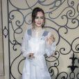 Lily Collins - People au photocall du défilé de mode Givenchy collection prêt-à-porter Printemps/Eté 2018 lors de la fashion week à Paris le 1er octobre 2017. © Olivier Borde/Bestimage