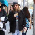 Tom Petty à la sortie de chez le médecin à Beverly Hills, le 27 juin 2016.