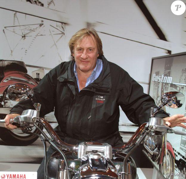 Gérard Depardieu et l'amour de sa vie... : les motos !