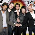 Le groupe Elbow aux Brit Awards 2009 !