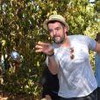 """Semi-Exclusif - Arnaud Ducret lors du week end d'inauguration de la """"Suite Michèle Morgan"""" de l' Hôtel   Barrière le Majestic Cannes , le 7 octobre 2017. © Guirec Coadic/Bestimage"""