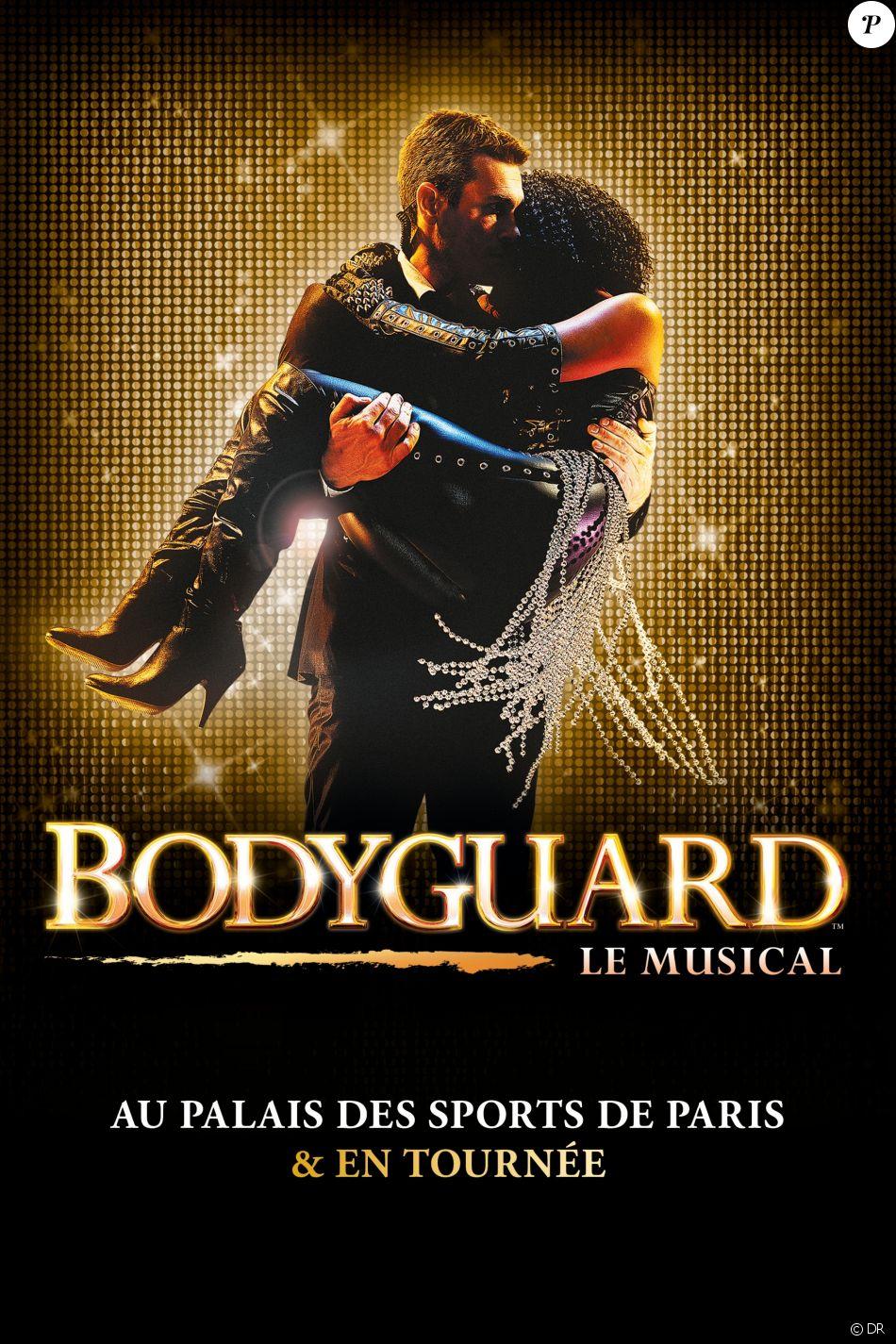 Affiche du musical Bodyguard
