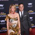 Mark Ruffalo et sa femme Sunrise Coigney à la première de 'Thor: Ragnarok' à Hollywood, le 10 octobre 2017 © Chris Delmas/Bestimage