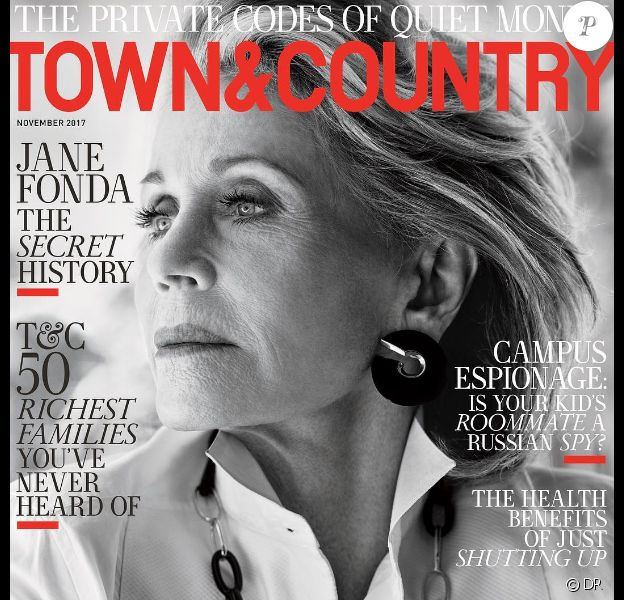 Couverture du magazine Town & Country, édition du mois de novembre 2017.