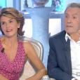"""Anne Nivat et Jean-Jacques Bourdin racontent leur rencontre sur le plateau de """"Salut les Terriens !"""", le 7 octobre 2017."""