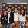 Laura Leishman, Joel Ronez et Giulia Foïs - Conférence de presse de Radio France le 28 août 2013