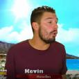 """Kevin Guedj évoque sa perte de poids dans """"Les Marseillais"""" (W9), lundi 16 octobre 2017."""