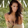 """Jade Lagardère pose topless en couverture du magazine """"Maxim"""", numéro de novembre 2017."""