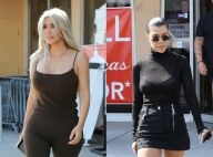 Kim et Kourtney Kardashian : Lookées pour la suite du shopping de Noël