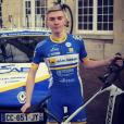 Mathieu Riebel au château de la Doucette en Seinte-Saint-Denis, photo Instagram janvier 2017. L'étudiant et coureur cycliste licencié au VCA du Bourget a trouvé la mort à 20 ans lors du Tour de Nouvelle-Calédonie, le 20 octobre 2017.
