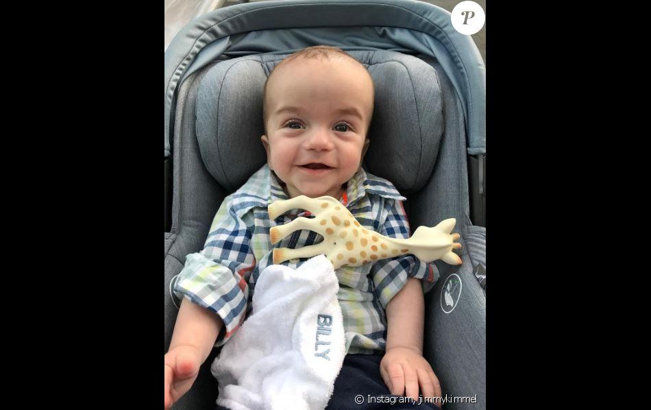 Billy, le fils de Jimmy Kimmel. Instagram, le 21 octobre 2017