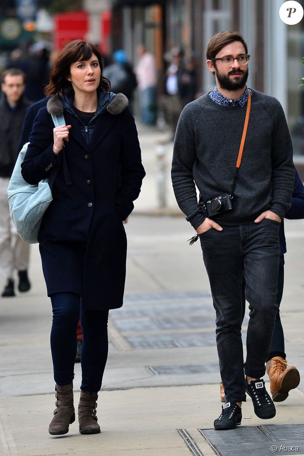 Mary Elizabeth Winstead et Riley Stearns à New York le 15 mars 2016