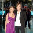 Ewan Mc Gregor, Eve Mavrakis - Avant-première du film The Island à Lodnres en 2005