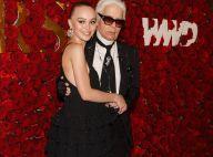 Lily-Rose Depp : La muse de Karl Lagerfeld, craquante en petite robe noire