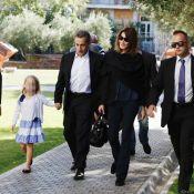 Carla Bruni en Grèce : Visite touristique avec Giulia et Nicolas Sarkozy