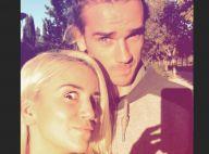 Antoine Griezmann grimace avec Erika, leur petite Mia jamais loin