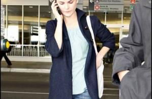 Keri Russell, un look top, mais des chaussures bof...