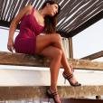 Candice Pascal très sensuelle, se dévoile sur Instagram.