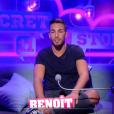 """""""Benoît lors de la quotidienne de """"Secret Story 11"""" (NT1), vendredi 3 novembre 2017."""""""