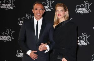 Nikos Aliagas et sa compagne Tina Grigoriou complices aux NRJ Music Awards 2017