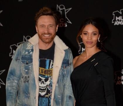 David Guetta et sa jeune compagne Jessica font le show aux NRJ Music Awards