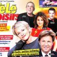 """""""Magazine """"Télé Loisirs"""" en kiosques le 6 novembre 2017."""""""