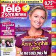 """Magazine """"Télé 2 Semaines"""", en kiosques à partir de lundi 6 novembre 2017."""