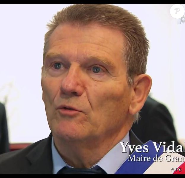 """Yves Vidal, maire de la ville de Grans (Bouches-du-Rhône), aperçu dans """"Mariés au premier regard"""" (M6) en 2016 et 2017 et """"Coup de foudre au prochain village"""" (TF1) en 2013."""