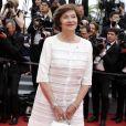 """Macha Méril - Montée des marches du film """"Nelyubov"""" (Loveless) lors du 70e Festival International du Film de Cannes. Le 18 mai 2017. © Borde-Jacovides-Moreau/Bestimage"""