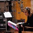 Céline Dion est de retour en studio pour un prochain disque en anglais prévu en 2018. Instagram, novembre 2017