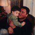 """ Photo de Biaggio Ali Walsh et son grand-père Mohamed Ali. """