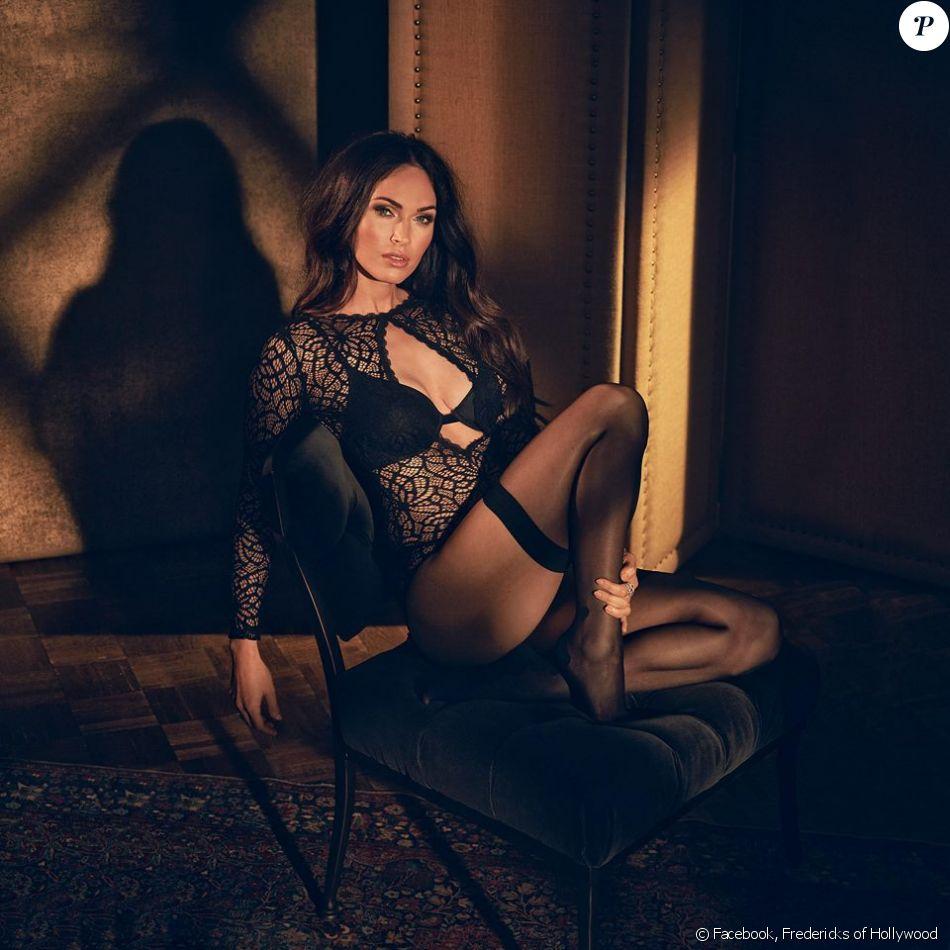 Canon en lingerie, elle prépare un printemps torride — Megan Fox