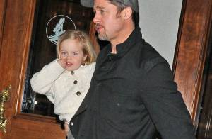 Brad Pitt, Angelina Jolie et leurs adorables enfants se font une sortie à Broadway !
