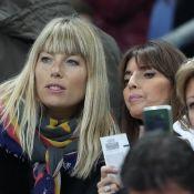 France-Galles : Nagui et Mélanie Page savourent au côté de Mme Didier Deschamps