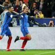 L'équipe de France entraînée par Didier Deschamps a battu le Pays de Galles (2-0) en match amical le 10 novembre 2017 au Stade de France.