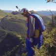 """""""Valery Rozov, photo Instagram 2017. Le Russe, adepte du base jump, a trouvé la mort le 11 novembre 2017 à 52 ans dans l'Himalaya."""""""