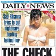 Rihanna en couverture du Daily News