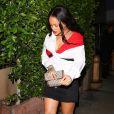 """Exclusif - Rihanna arrive au restaurant 'Giorgio Baldi' à Santa Monica en Californie. Le 11 novembre 2017."""
