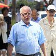 Exclusif - Richard Dreyfuss va déjeuner avec des amis à Beverly Hills, le 30 août 2016.