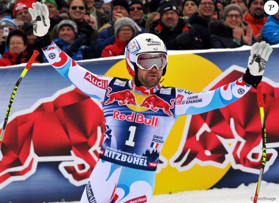 David Poisson (FRA) - People a la Kitz Charity Race à Kitzbuhel en Autriche le 25 janvier 2014.