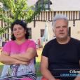 """Patrick et Céleste, candidats de """"Bienvenue chez nous"""" (TF1)."""