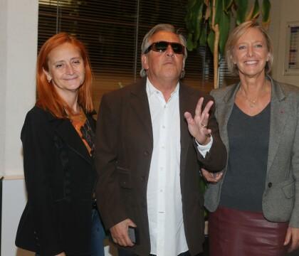 Gilbert Montagné : Fier au bras de sa femme pour un projet télé