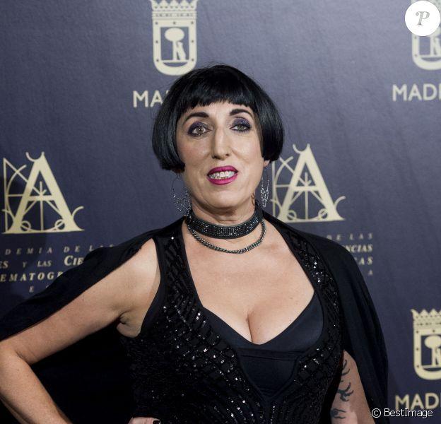 Rossy de Palma - Cocktail entre les académies des arts et des sciences cinématographiques de Hollywood et l'cadémie des arts et sciences cinématographiques d'Espagne au Casino de Madrid au Casino de Madrid, Espagne, le 9 octobre 2017.