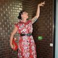 """Rossy de Palma - People au défilé de mode """"Jean Paul Gaultier"""", collection Haute-Couture automne-hiver 2017/2018, à Paris. Le 5 juillet 2017 © CVS-Veeren / Bestimage"""
