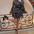 """Rossy de Palma - People au défilé de mode """"Alexis Mabille"""", collection Haute-Couture automne-hiver 2017/2018, à Paris. Le 4 juillet 2017 © CVS - Veeren / Bestimage"""