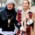 Sophie Fontanel et Alexandra Golovanoff à Paris, le 3 mars 2017.