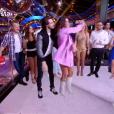 """Karine Ferri danse avec Anthony Colette dans """"Danse avec les stars 8"""", le 18 novembre 2017."""